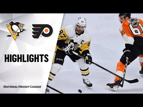 Penguins @ Flyers 5/4/21 | NHL Highlights