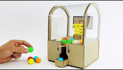 Download Music DIY Best Ever Toy Slam Dunk Double Bubble Mini Gumball Machine