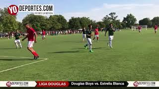 Douglas Boys elimina a Estrella Blanca en Liga Douglas