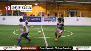 Dynamic FC vs. Los Comales Final Chitown Futbol