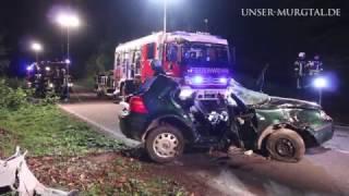 Gernsbach: Schwerer Verkehrsunfall auf der K3766