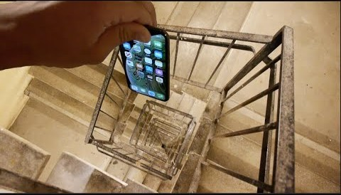 Download Music Dropping an iPhone XS Down Crazy Spiral Staircase 300 Feet - Will It Survive?