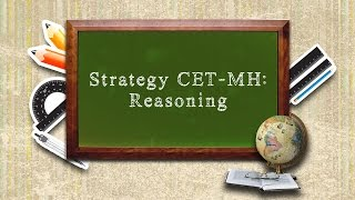 MH CET - MBA - Reasoning Strategy