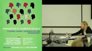 Immigration et cohésion sociale : comment penser l'intégration des immigrants