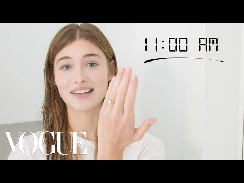 How Top Model Grace Elizabeth Gets Runway Ready | Diary of a Model | Vogue