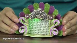 How to Make a Finger Puppet Theatre With the Sizzix Caddy Die