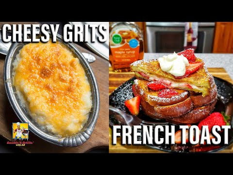 Cheesy Grits and French Toast   #BreakfastwitAB