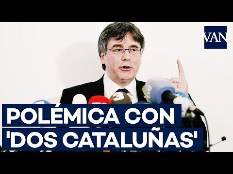 Puigdemont aclara la polémica con 'Dos Cataluñas' de Netflix