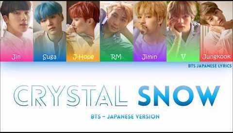 Download Music BTS (防弾少年団) -CRYSTAL SNOW Lyrics (COLOR CODED) (HAN/ROM/ENG)