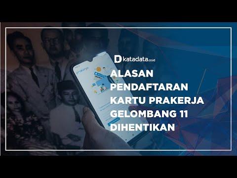 Alasan Pendaftaran Kartu Prakerja Gelombang 11 Dihentikan   Katadata Indonesia