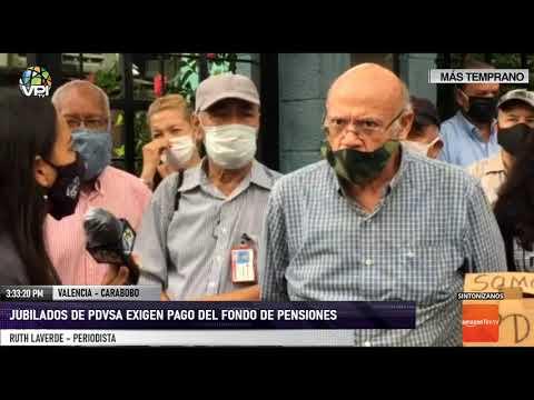 Carabobo - Jubilados de Pdvsa exigen pago del fondo de pensiones - VPItv