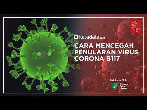 Cara Mencegah Penularan Virus Corona B117   Katadata Indonesia