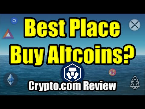 Where is the Best Place to Buy Altcoins in 2020? | Crypto.com Review