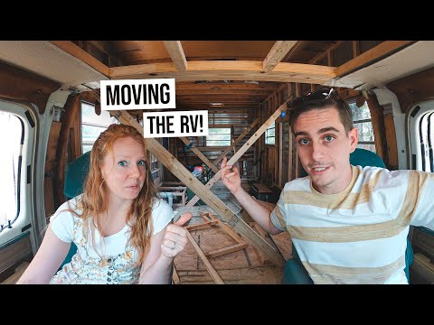 RV Renovation PART 10 - Taking the RV on a Road Trip?! + Resealing The Entire Outside!