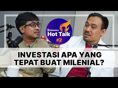 HOT TALK Eps 2: Memilih Investasi yang Tepat buat Milenial | Katadata Indonesia