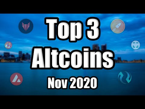 Top 3 Altcoin 'Hidden Gems' To Watch in November 2020 | Best Cryptocurrency Investments | Low Cap