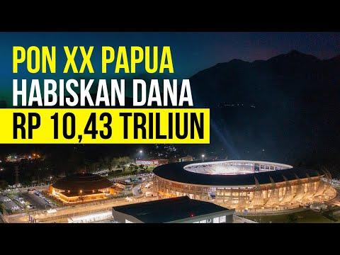Disiapkan Sejak 2018, Sri Mulyani Ungkap PON Papua Habiskan APBN Rp10,43 Triliun