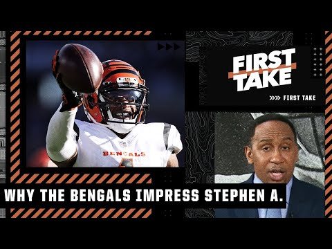Stephen A. says 'Ja'Marr Chase is THAT DUDE' & is impressed by Joe Burrow's Bengals | First Take