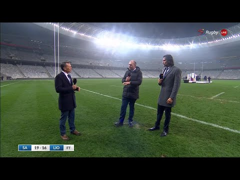 Lions Series 2021 | Schalk Burger, Victor Matfied & Joel Stranksy react to Springboks winning series