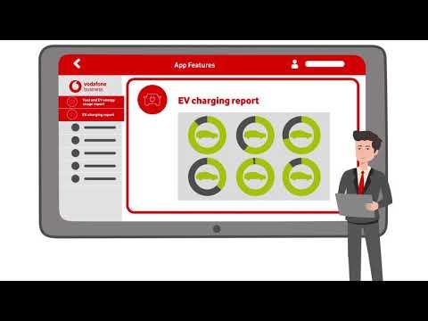 Vodafone Business Fleet Analytics – Electric vehicles