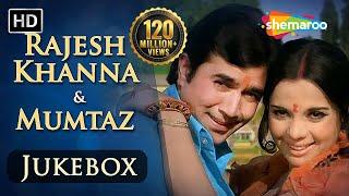 Rajesh Khanna & Mumtaz Songs JUKEBOX (HD) , Evergreen Hindi Songs , Best Bollywood Old Songs