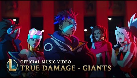 Download Music True Damage - GIANTS (ft. Becky G, Keke Palmer, SOYEON, DUCKWRTH, Thutmose) | League of Legends