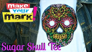 How to: Sugar Skull Tee