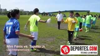 Liga Interamericana Mini Fenix vs Tapatio Jr.