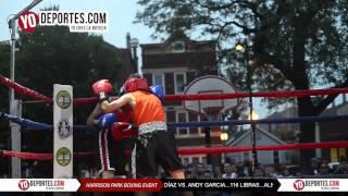 Alejandro Diaz vs. Andy Garcia Harrison Park Boxing Show Pilsen