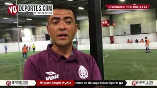 Arbitro Miguel Angel Ayala invita a las clínicas en Chicago