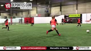 Mercadito vs Boca Jr COED Liga Latinoamericana