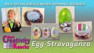 All-Star Designers Spring Series: Egg-Stravaganza