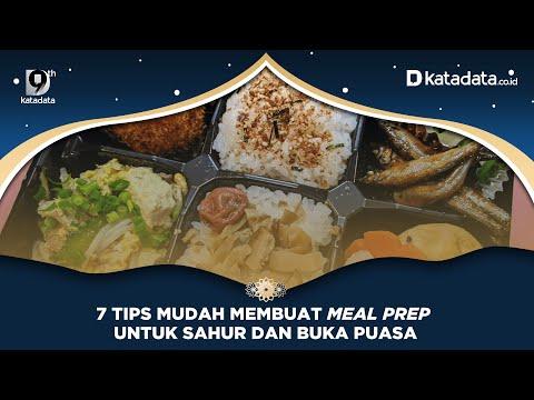 7 Tips Mudah Membuat Meal Prep Untuk Sahur dan Buka Puasa | Katadata Indonesia