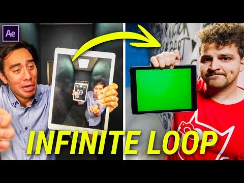 INFINITE ZOOM Effect from ZACH KING (After Effects)