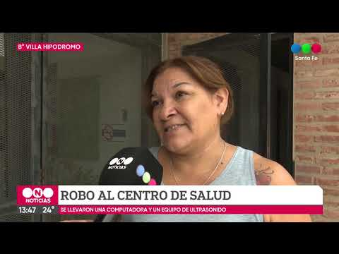 Robaron costosos equipos del Centro de Salud de Villa Hipódromo