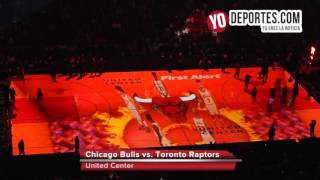 Chicago Bulls vs. Toronto Raptors Lineup