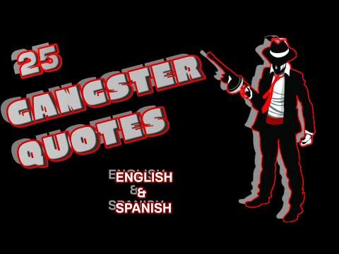 25 Gangster Quotes of All Time💣 Spanish Translation 🔪25 Frases de Mafiosos de Todos los Tiempos💰
