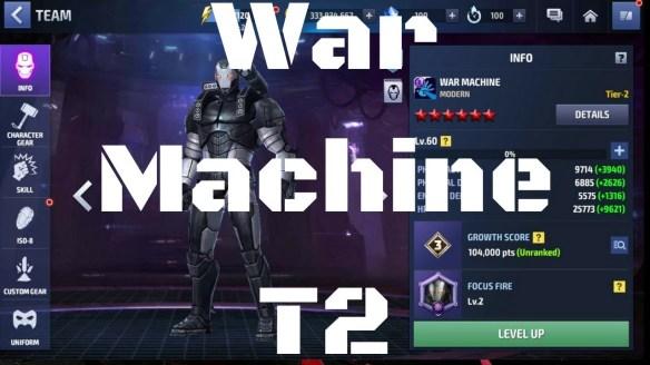 รีวิว War Machine T2