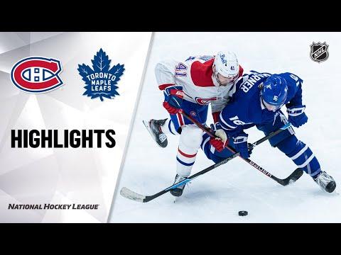 Canadiens @ Maple Leafs 4/7/21   NHL Highlights