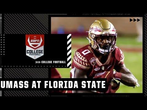 UMass Minutemen at Florida State Seminoles | Full Game Highlights