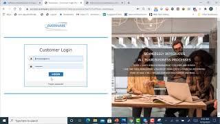 Averiware Customer Self Service Portal