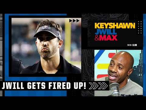 'The taunting calls are just STUPID!' - JWill is FIRED UP after the Eagles vs. Bucs game | KJM