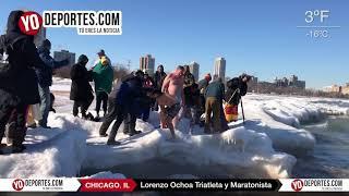 Lorenzo Ochoa Chicago Polar Plunge 2018