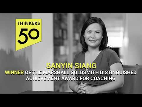 Sanyin Siang - Winner of the Thinkers50 Marshall Goldsmith Coaching Award
