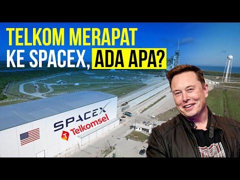 Telkom Merapat ke SpaceX, Ada Apa?