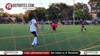 San Lázaro vs. New Revolution Liga Latinoamericana
