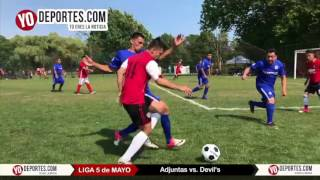 Adjuntas vs. Devil's 5 de Mayo Soccer League