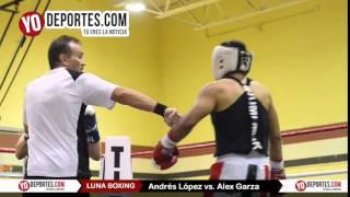 Andres Lopez vs. Alex Garza Joliet Luna Boxing 2015