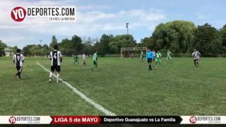 Deportivo Guanajuato vs. La Familia Liga 5 de Mayo