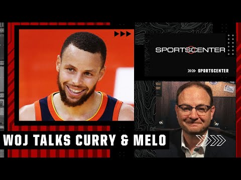 Woj reacts to Steph Curry's extension, Melo signin…